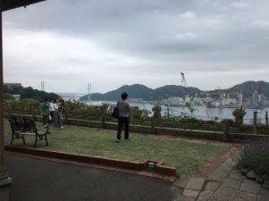 グラバー園からの長崎港