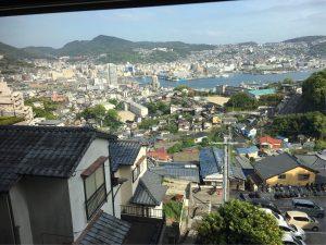 稲佐山からの長崎港眺め