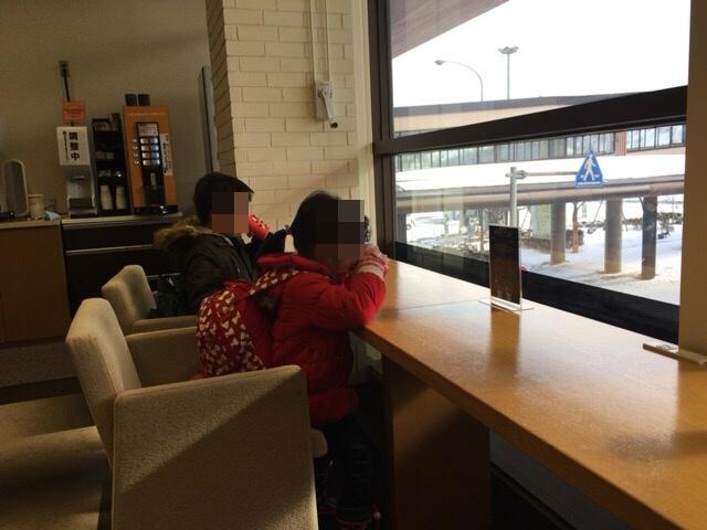 秋田空港 ラウンジ