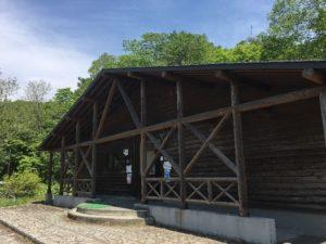 モラップキャンプ場 トイレ