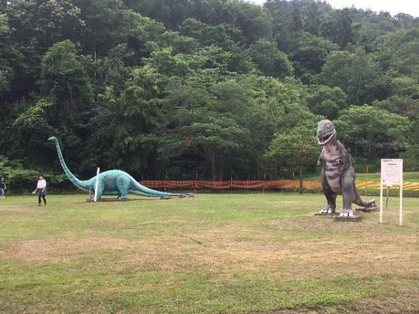 ファミリーランドみかさ遊園 恐竜