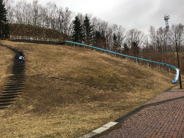 札幌 滑り台 真駒内